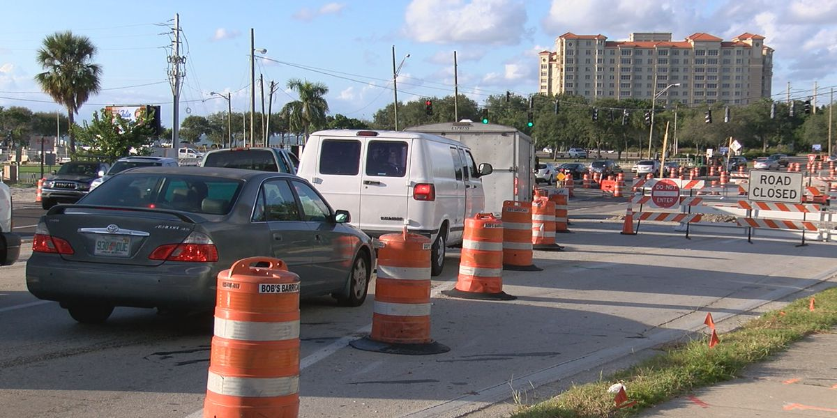 New traffic pattern on US 41 and 10th Street in Sarasota causing some confusion