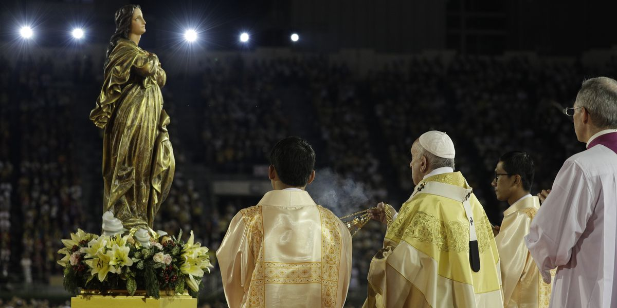 Pope seeks to 'liberate' Virgin Mary from the Mafia