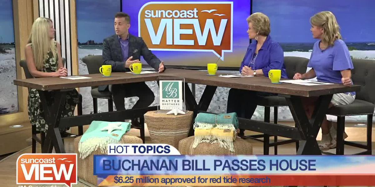 Will this New Bill Help when Red Tide Strikes Again? We Discuss that and More Hot Topics   Suncoast View
