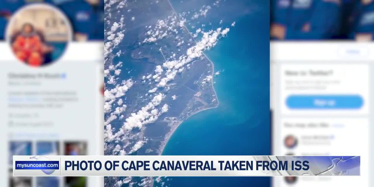 Photo of Cape Canaveral taken from ISS