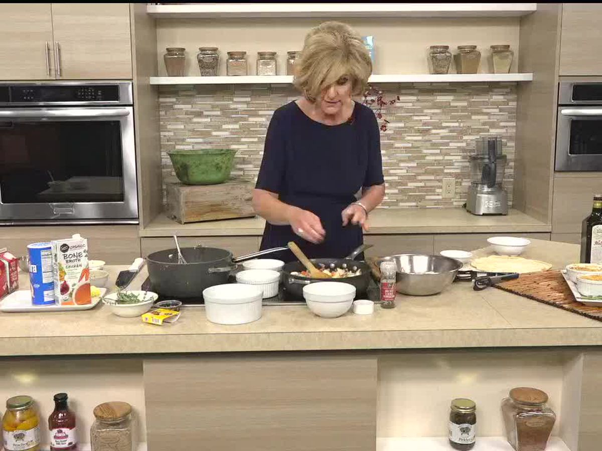 Mini Chicken Pot Pies with Chef Judi Gallagher