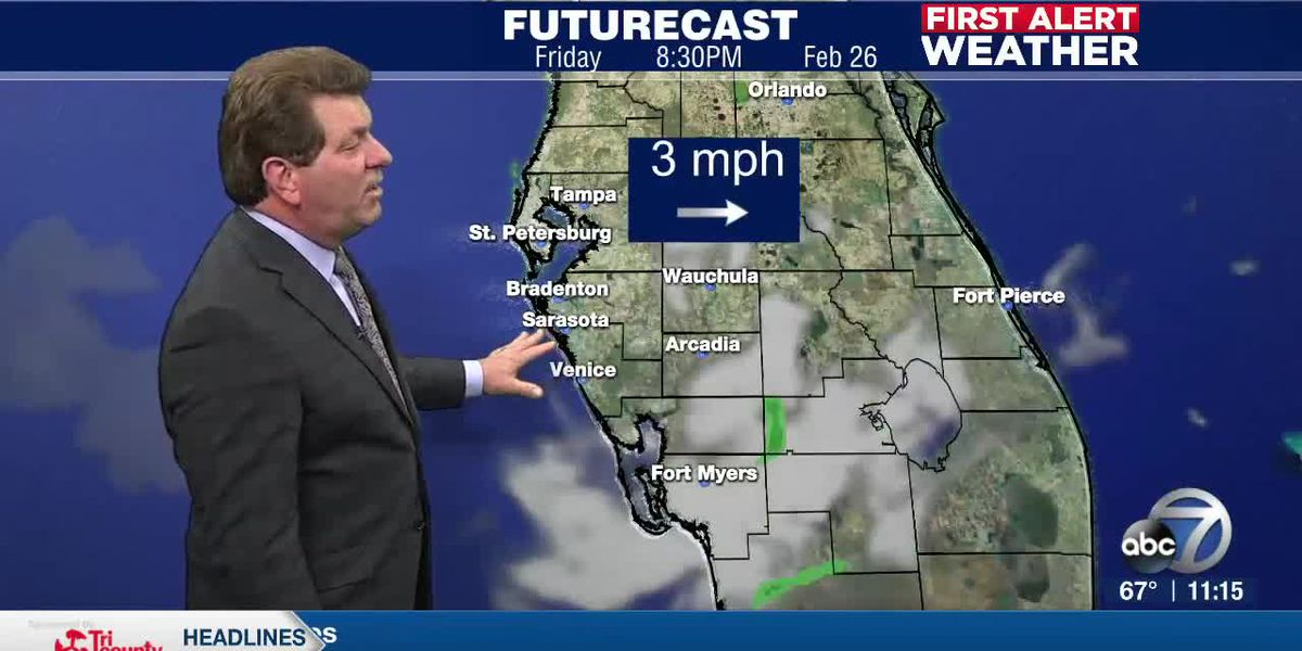 First Alert Weather - 11pm February 25, 2021