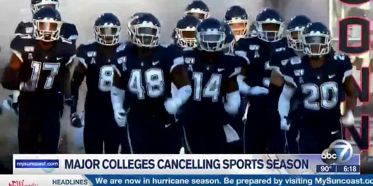 Major Colleges Cancelling Sports Season