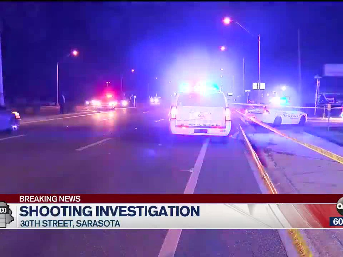 Police investigating shooting in Sarasota that left one injured
