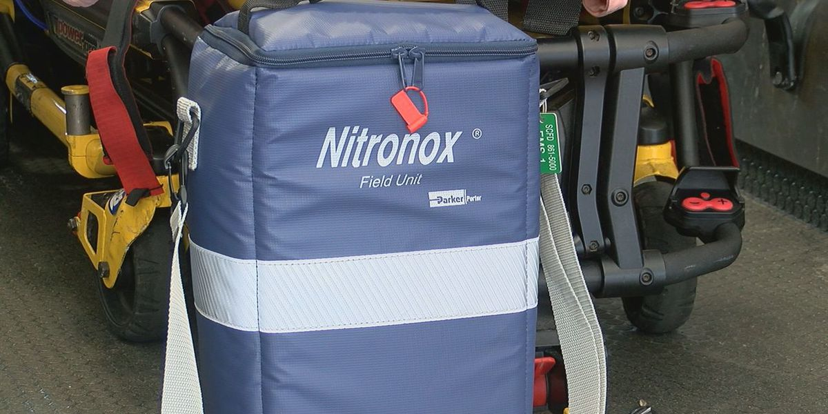 Sarasota County Paramedics Now Using Nitronox For Pain Instead of Narcotics