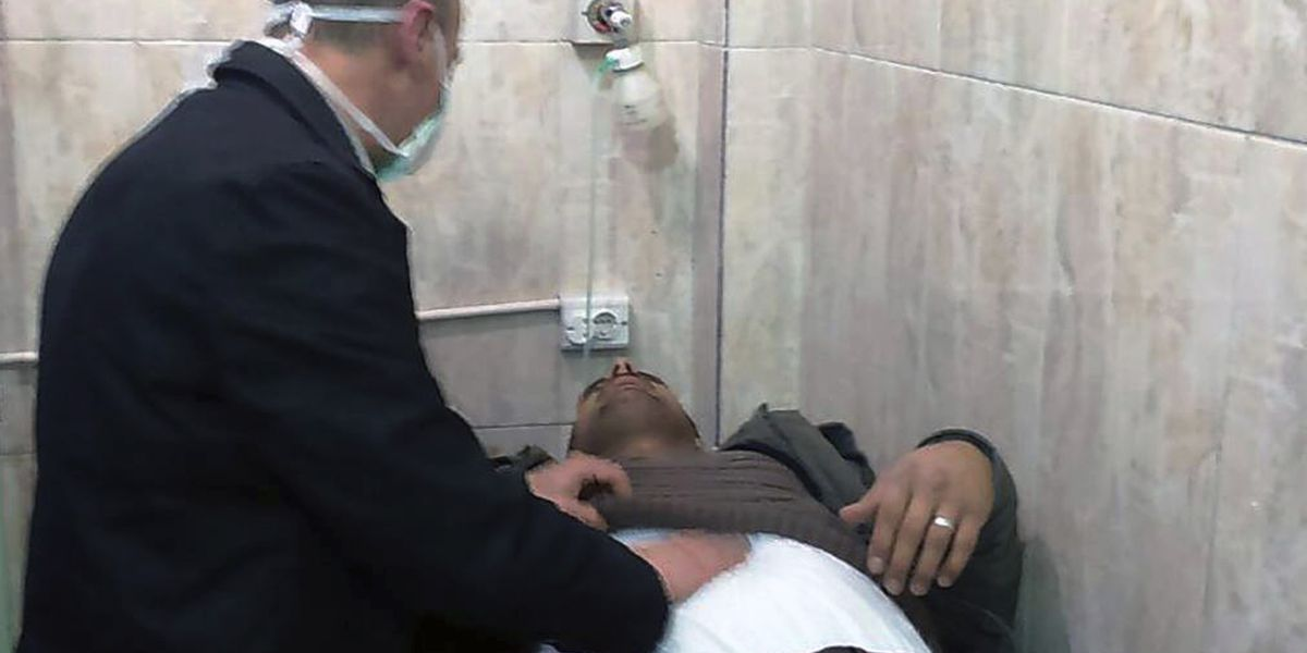 Syria accuses rebels of poison gas attack in Aleppo