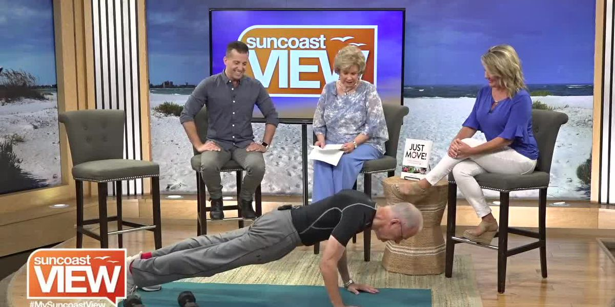 We Meet the 78-Year-Old Fitness Trainer Who's Inspiring Us to Workout! | Suncoast View