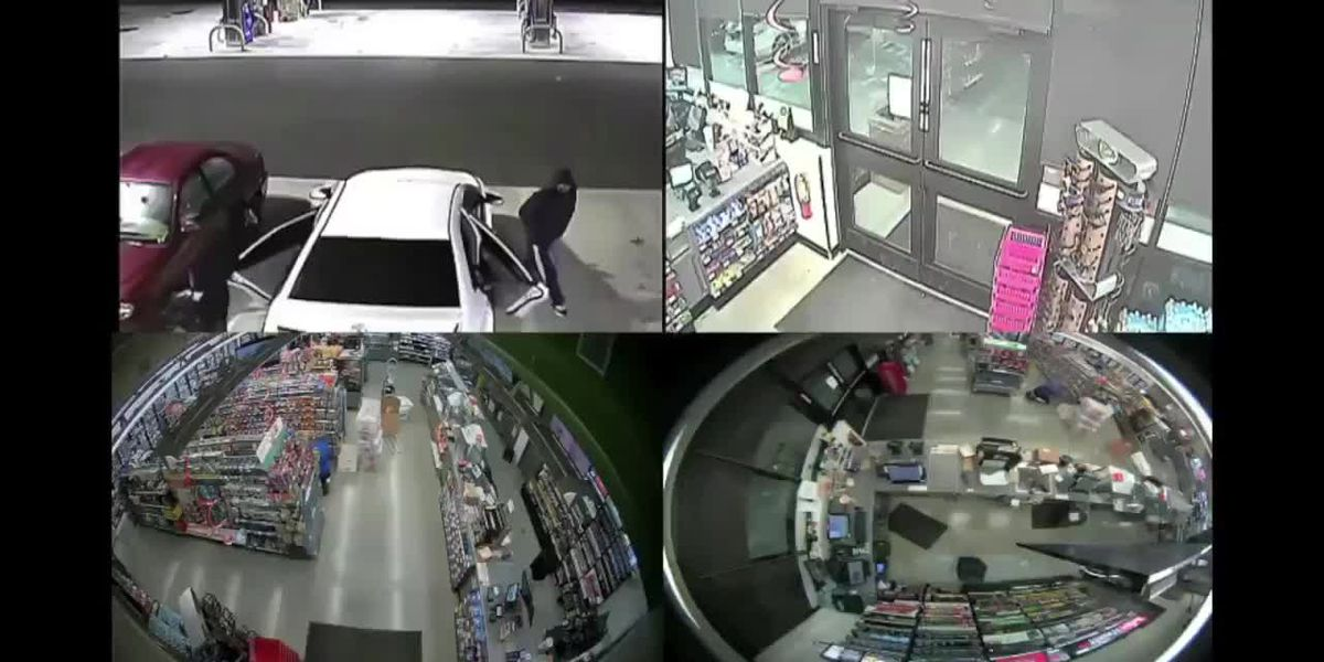 VIDEO: Three suspects wanted for multi-county crime spree after hitting Manatee County gas station