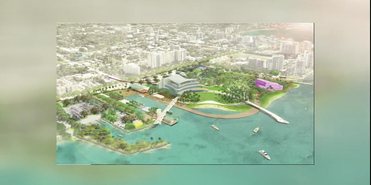 The Bay Sarasota update City and County Commissioners on Bayfront Project