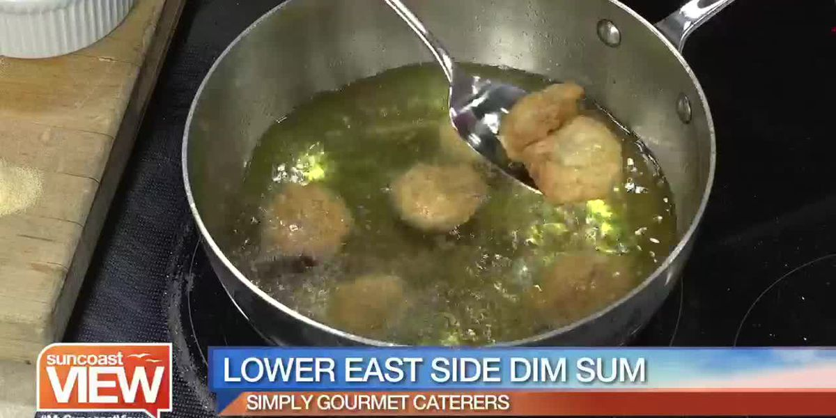 Recipe for Lower East Side Dim Sum by Simply Gourmet Caterers | Suncoast View