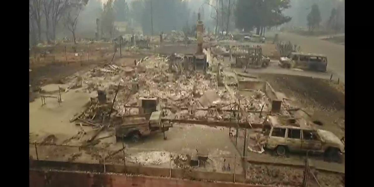 Search continues for survivors in CA wildfires