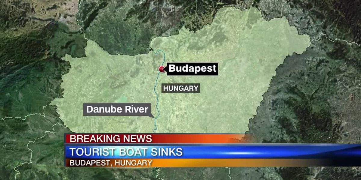 Tourist Boat Sinks on Danube River in Hungary