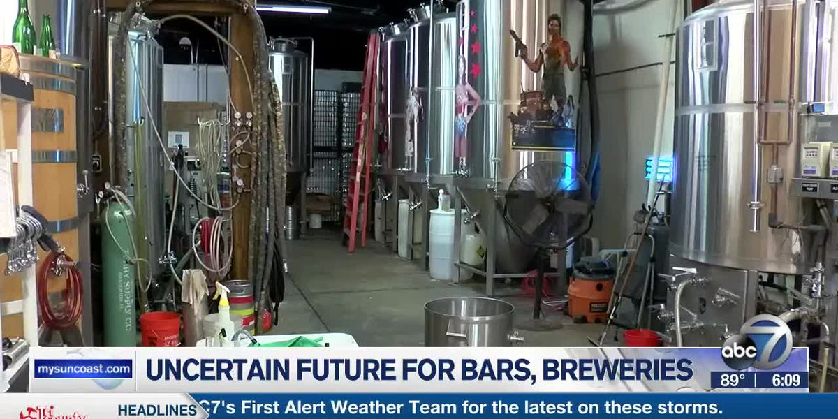 Future of bars and breweries still uncertain on the Suncoast