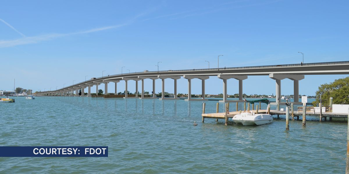 FDOT makes decision to replace existing Cortez Bridge in Manatee County with 65-foot high-level fixed bridge