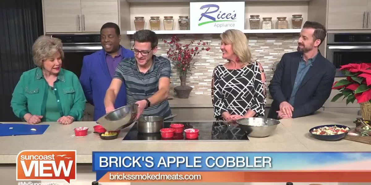 Apple Cobbler from Brick's Smoked Meats | Suncoast View