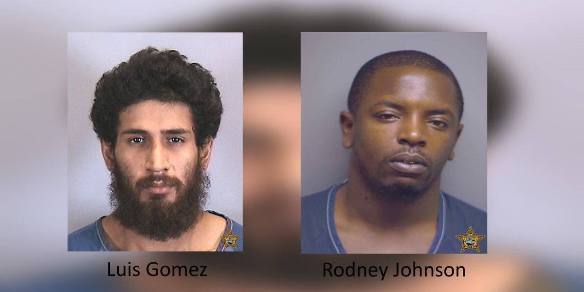 Manatee Sheriff's Office searching for two men who committed separate crimes