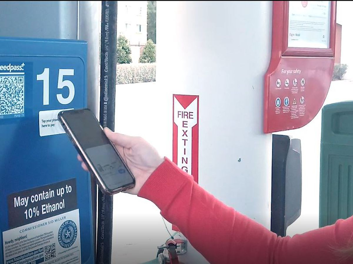 New contactless payment technology available at Exxon and Mobil gas pumps across the Country