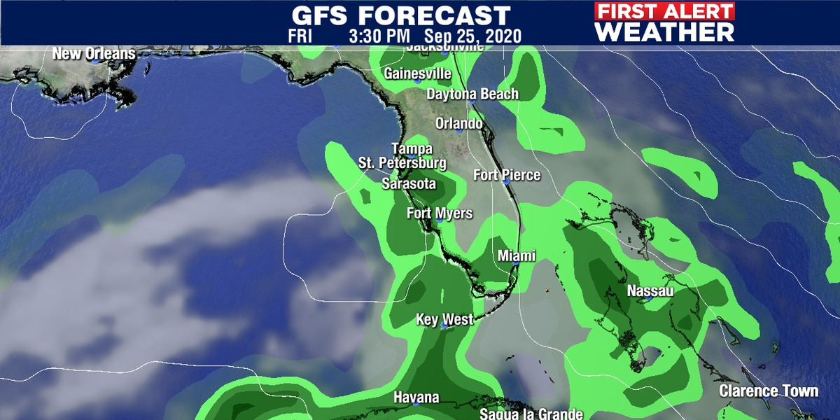Rain chances going up for the weekend