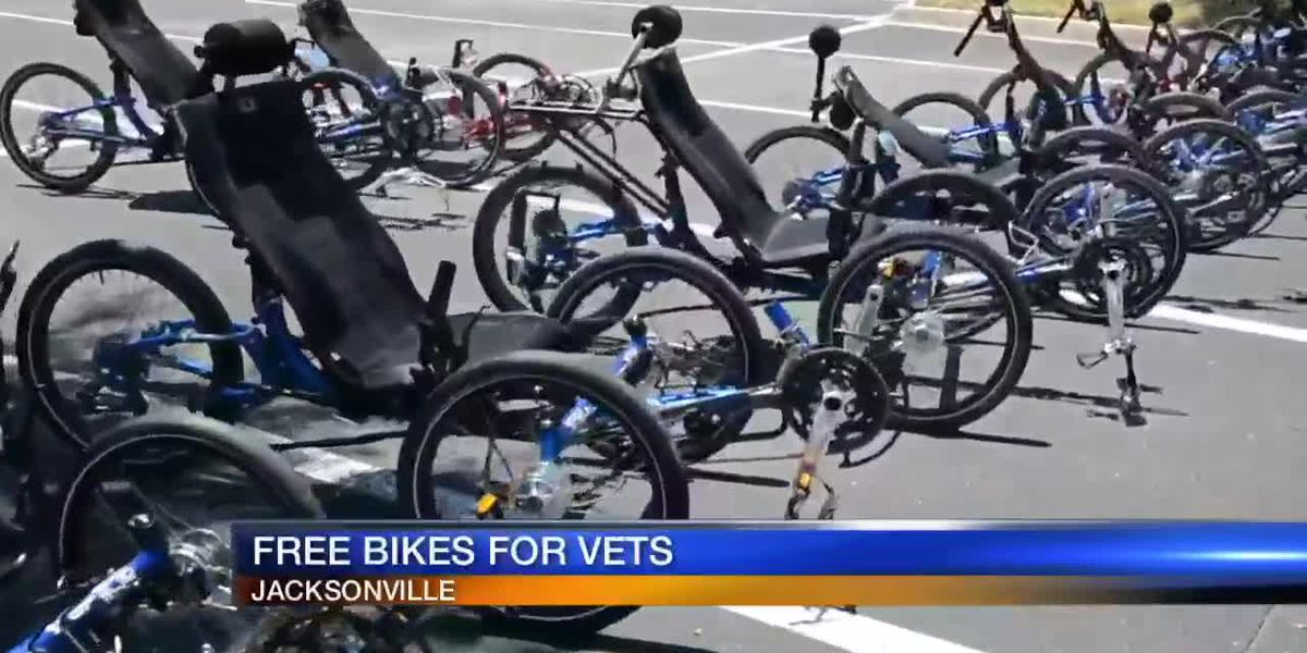 Free bikes for vets