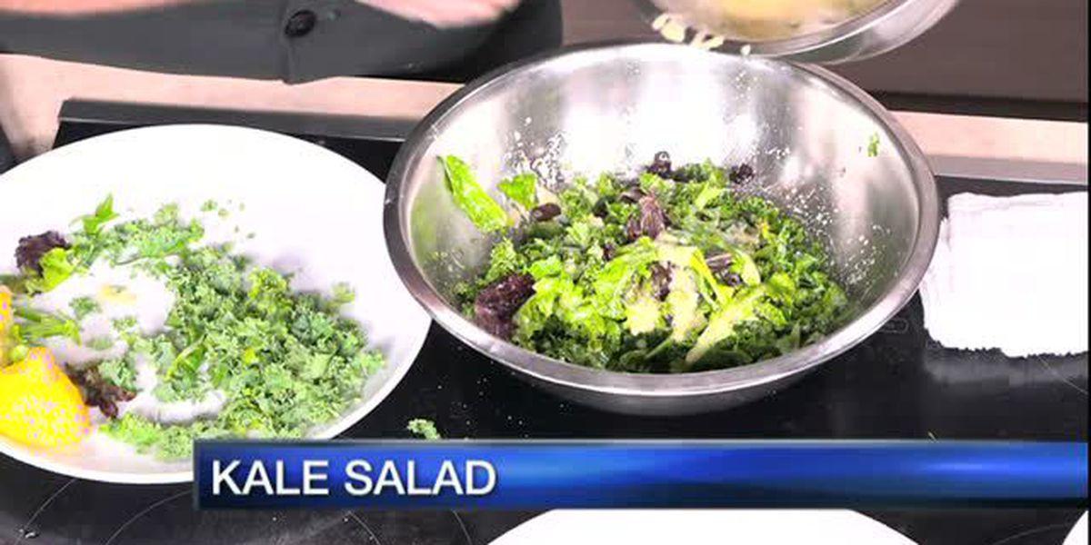 Prawn & Kale Salad | Apollonia Grill