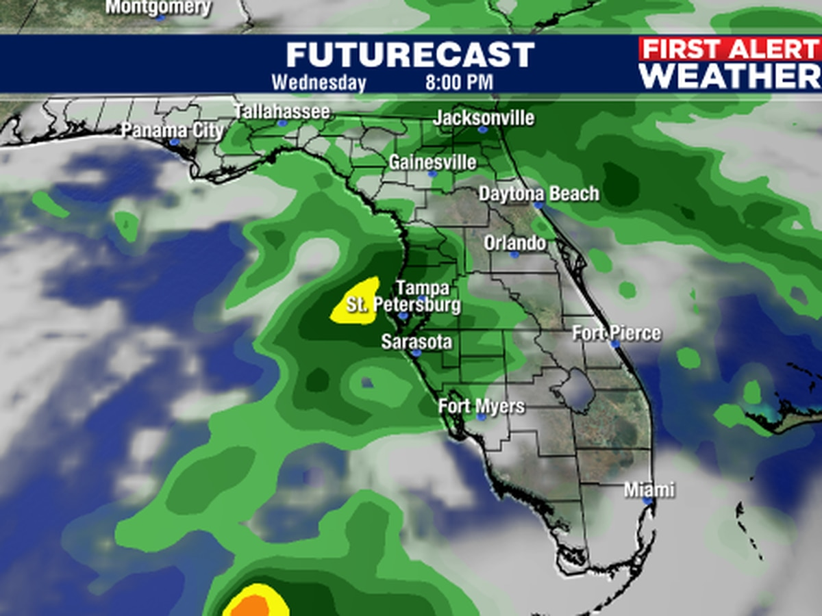 Storm system to bring rain on Wednesday