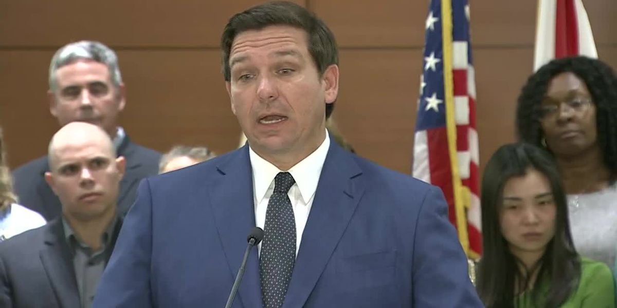 Gov. DeSantis to lead trip to Israel in May