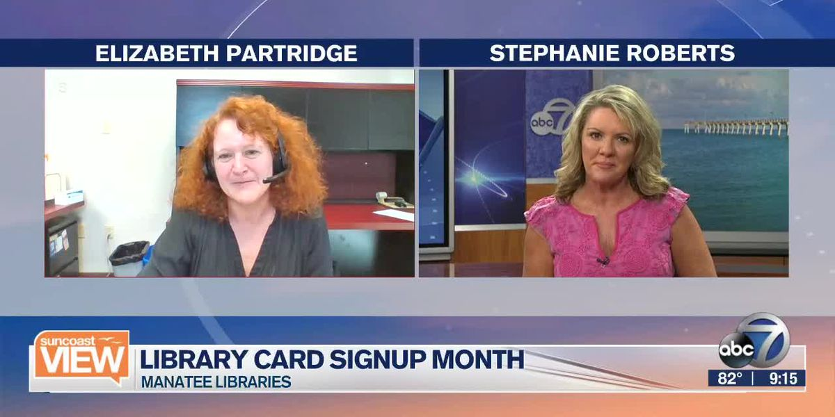 Manatee Libraries: Library card month | Suncoast View
