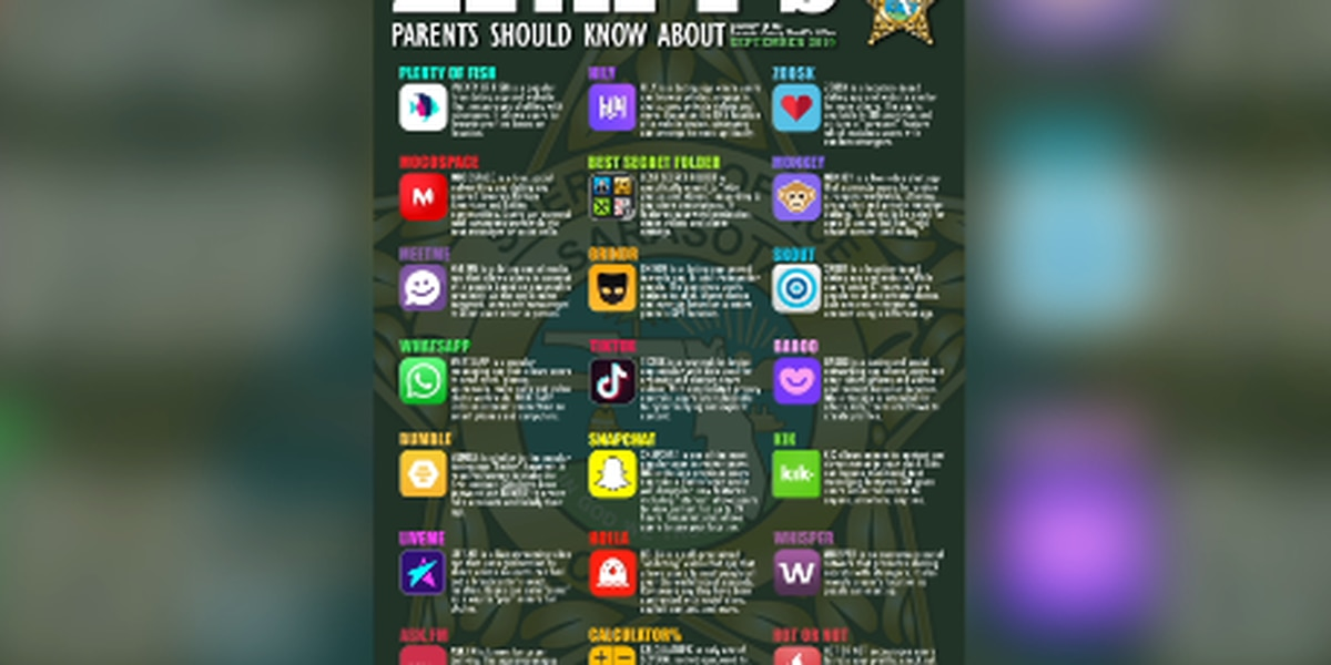 SCSO warns parents of additional apps they should know about after online predators arrest