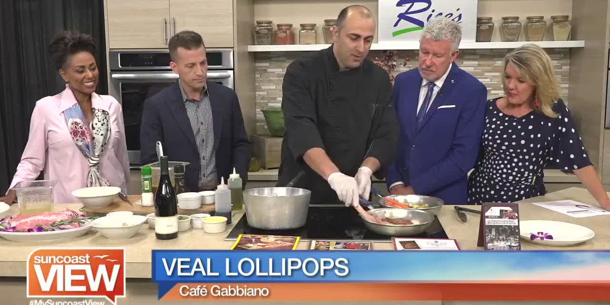 Recipe for Veal Lollipops by Café Gabbiano | Suncoast View