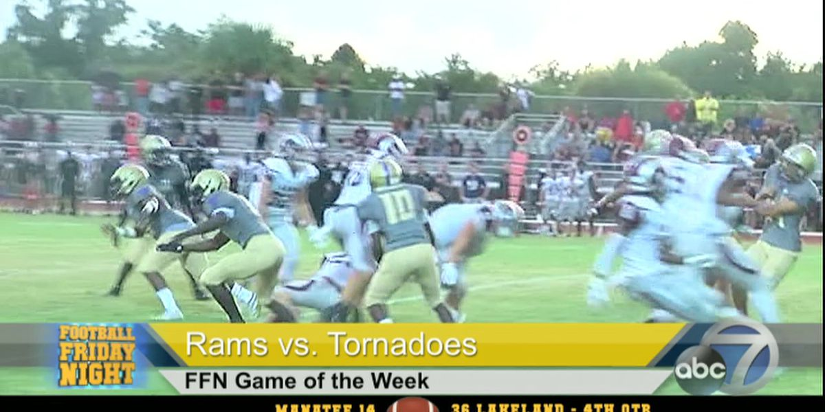 Video: Football Friday Night Game Of The Week - Riverview vs. Booker High
