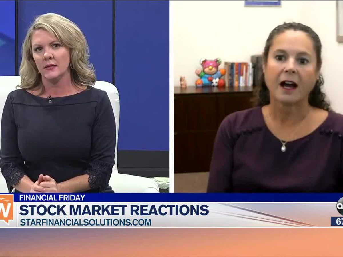 Our financial planner and advisor shares stock market reactions | Suncoast View