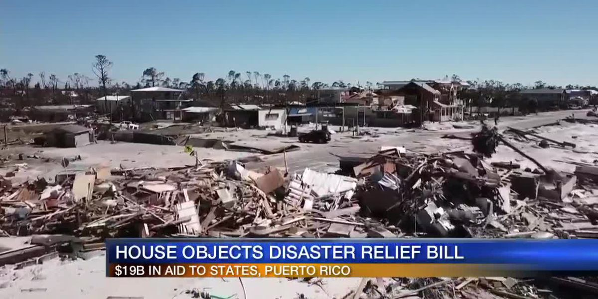 House rejects disaster relief bill