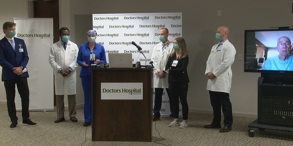 Doctors Hospital in Sarasota reflecting on the year since treating first COVID patient