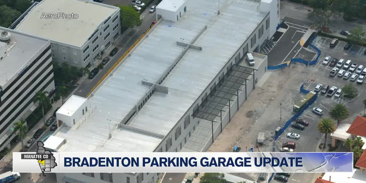 Bradenton parking garage update