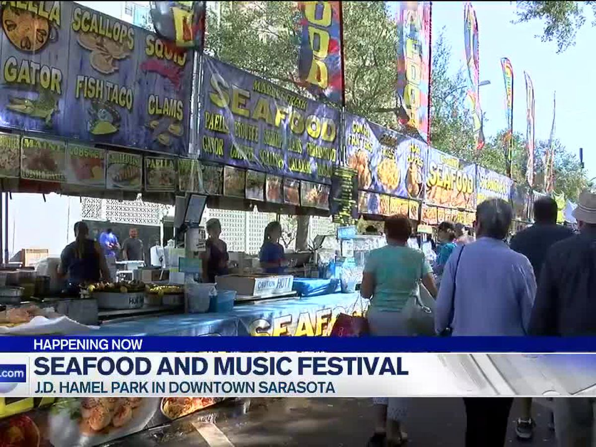 J.D, Hamel Park hosting fifth annual Sarasota Seafood and Music Festival