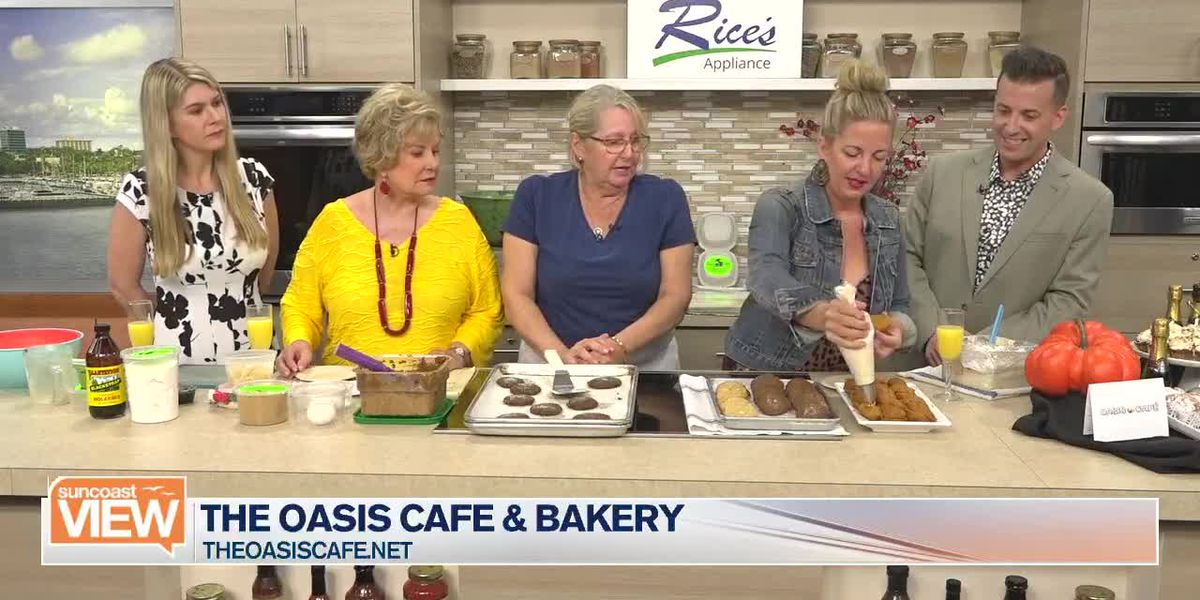 Recipe: Ginger Molasses Cookies by Oasis Cafe & Bakery | Suncoast View