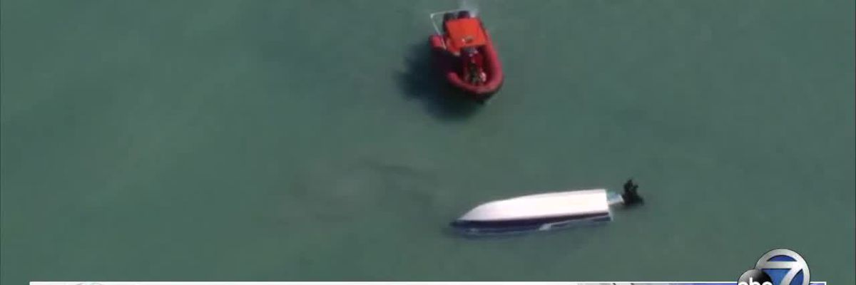 Coast Guard Searching For Missing Boaters