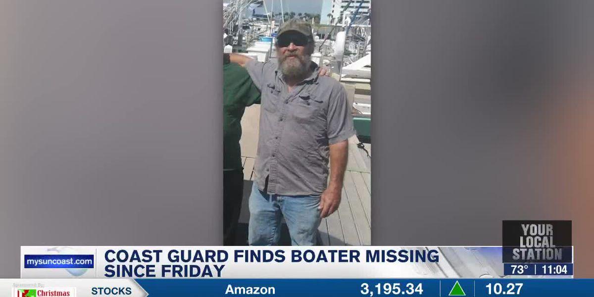Coast Guard Finds Boater Missing Since Friday