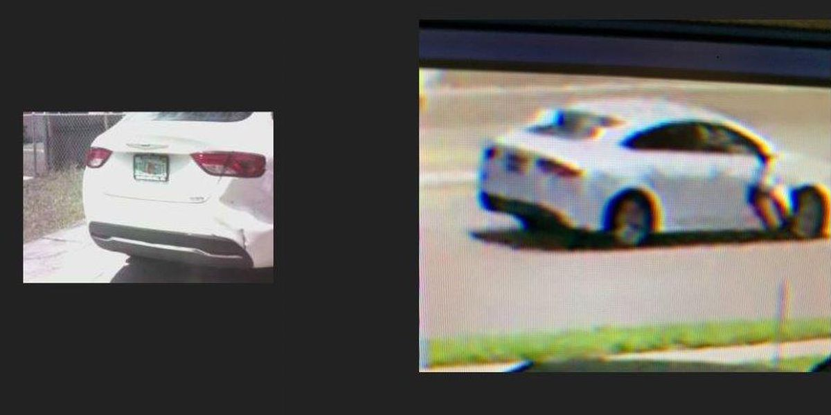 Sheriff's officials release image of vehicle potentially involved in drive-by shooting