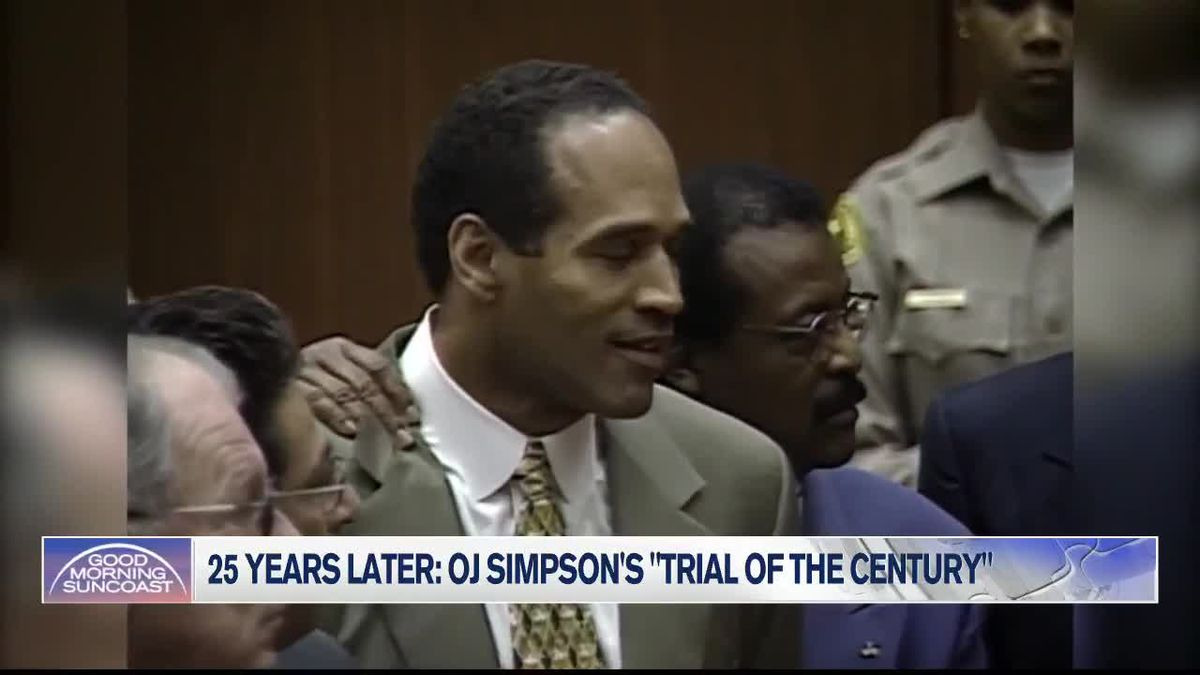 25th Anniversary of OJ Simpson Trial Noted
