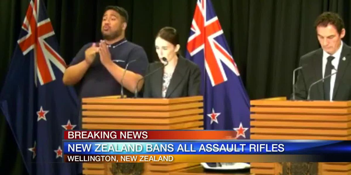 New Zealand bans all assault rifles