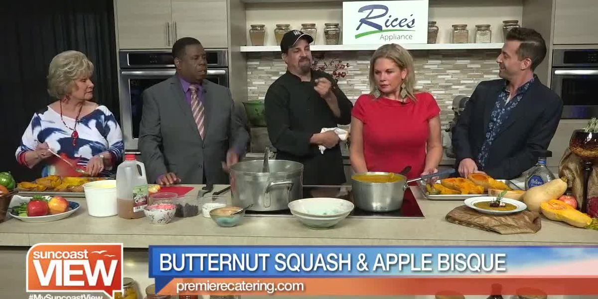 Butternut Squash & Apple Bisque from Premiere Catering | Suncoast View