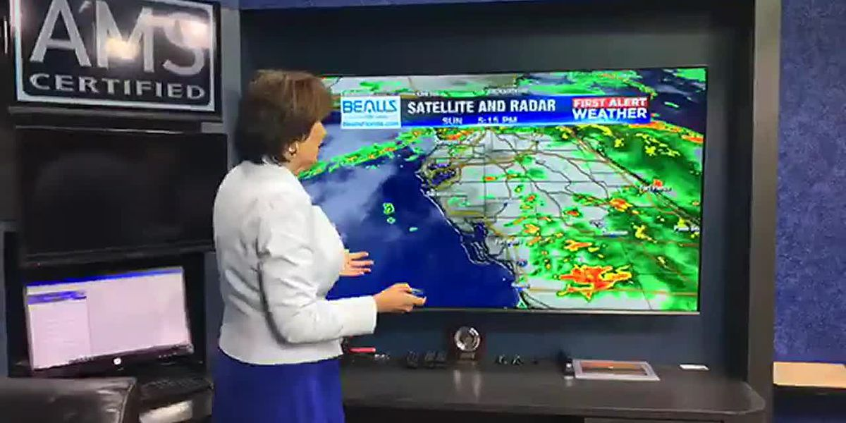 Rain Chances Still High for Monday