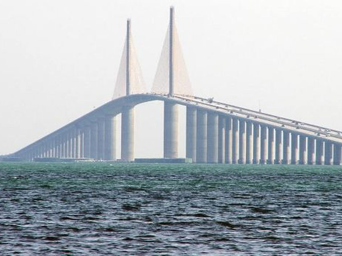 Police 'incident' causing back-up on Sunshine Skyway Bridge
