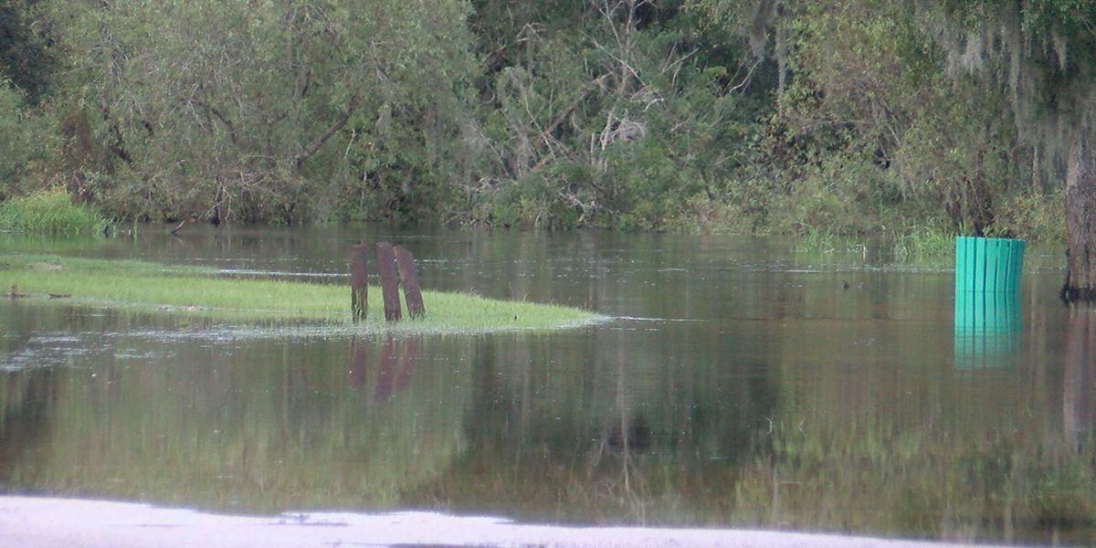 Flood warning in effect for Manatee River near Myakka Head