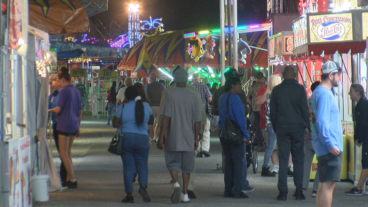 Opening day for the 104th Manatee County Fair in Palmetto