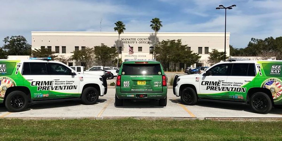 New crime prevention vehicles in Manatee County