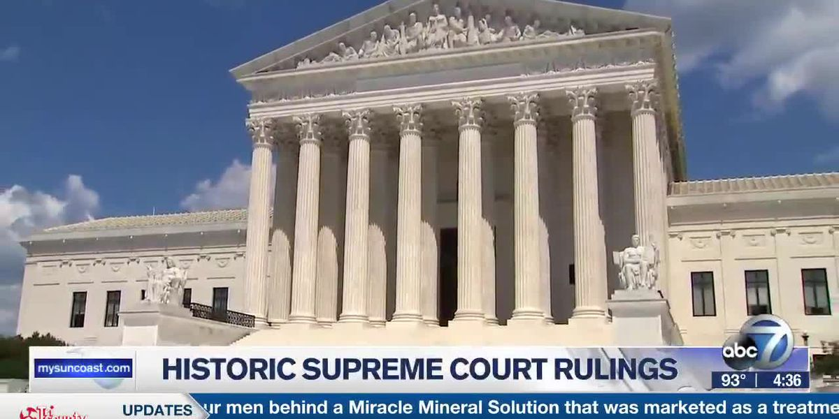 Historic Supreme Court Rulings