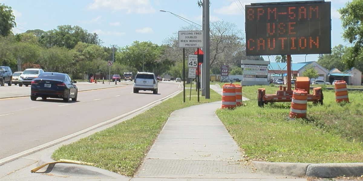Sarasota County starts new project to repave Beneva Road