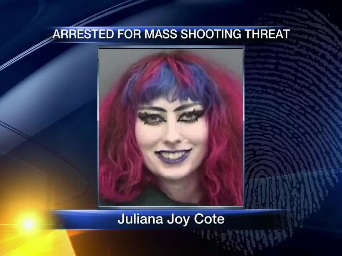 Florida woman arrested for mass shooting threat